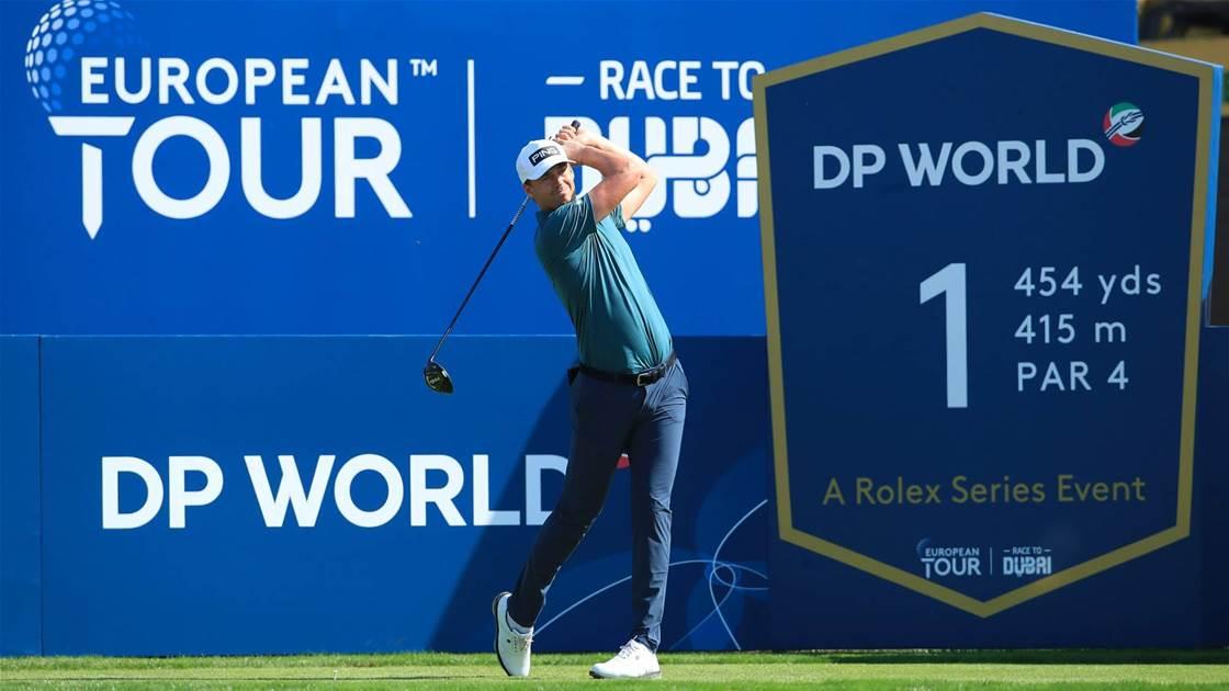 Perez leads World Tour Championship