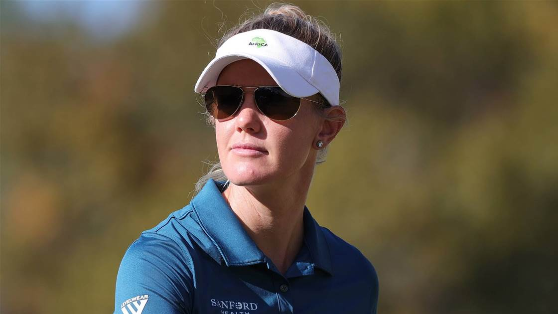 American ace Olson on top at US Women's Open