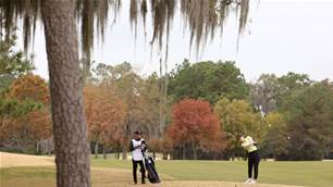 Ruffels shines at Champions Golf Club