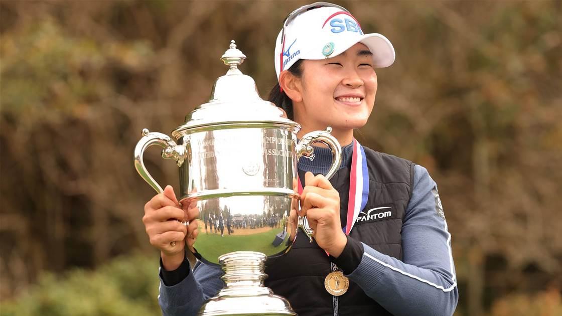 Kim wins US Women's Open on debut