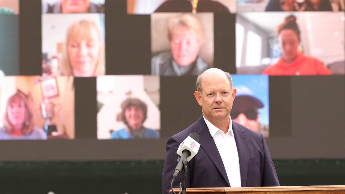 USGA renames research program to honour outgoing CEO