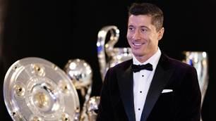 'What a surprise!' - Lewandowski and Bronze voted world's best