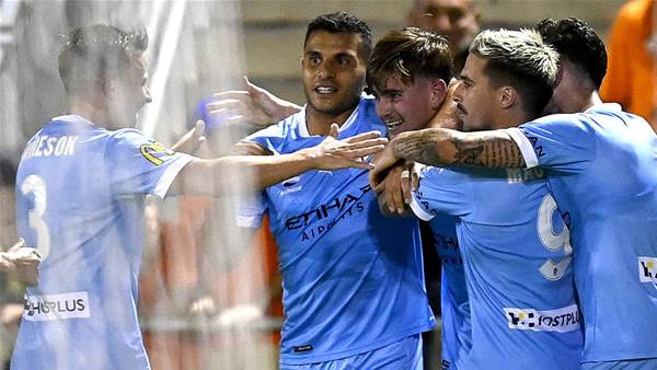 City beat Roar but Nabbout injured