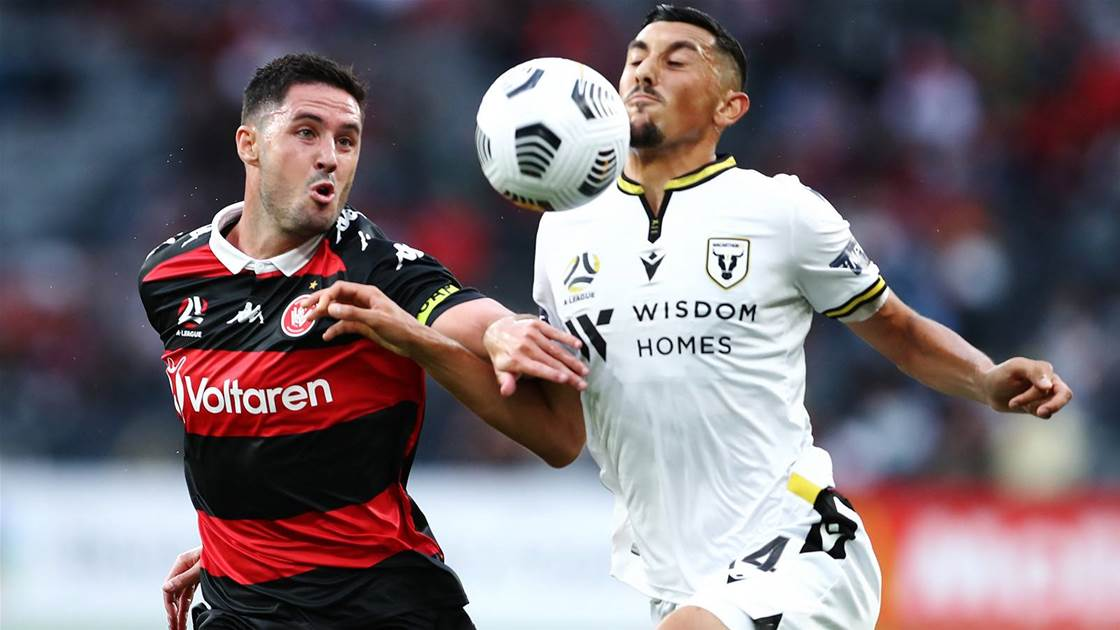 """'It's good for the A-League..."""" - WSW to get used to villain role: McGowan"""