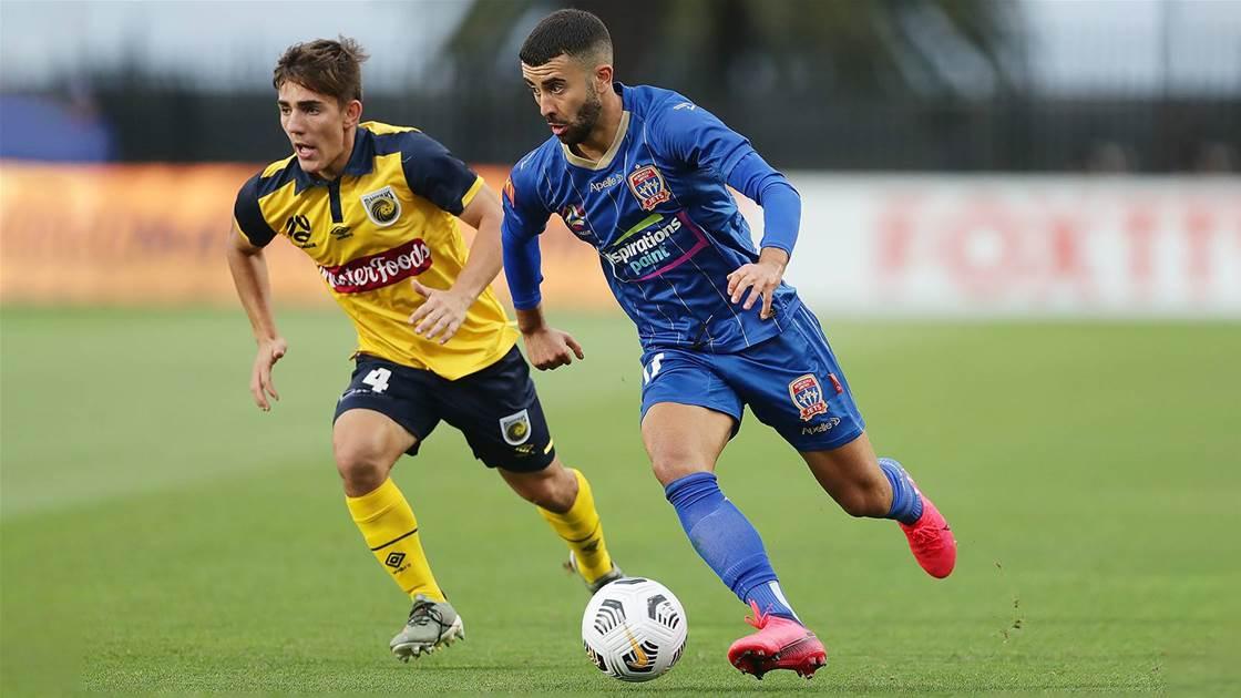 'Ramy's a fantastic footballer...' - Jets' trio has Milicic on alert
