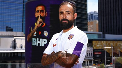 'He's here!' - Perth eye Castro return against City