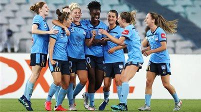 Sydney FC top of W-League after derby win