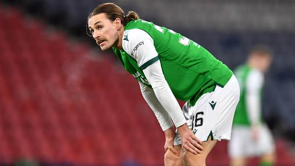 Irvine opens his Hibs account as he teams up with Socceroo Boyle