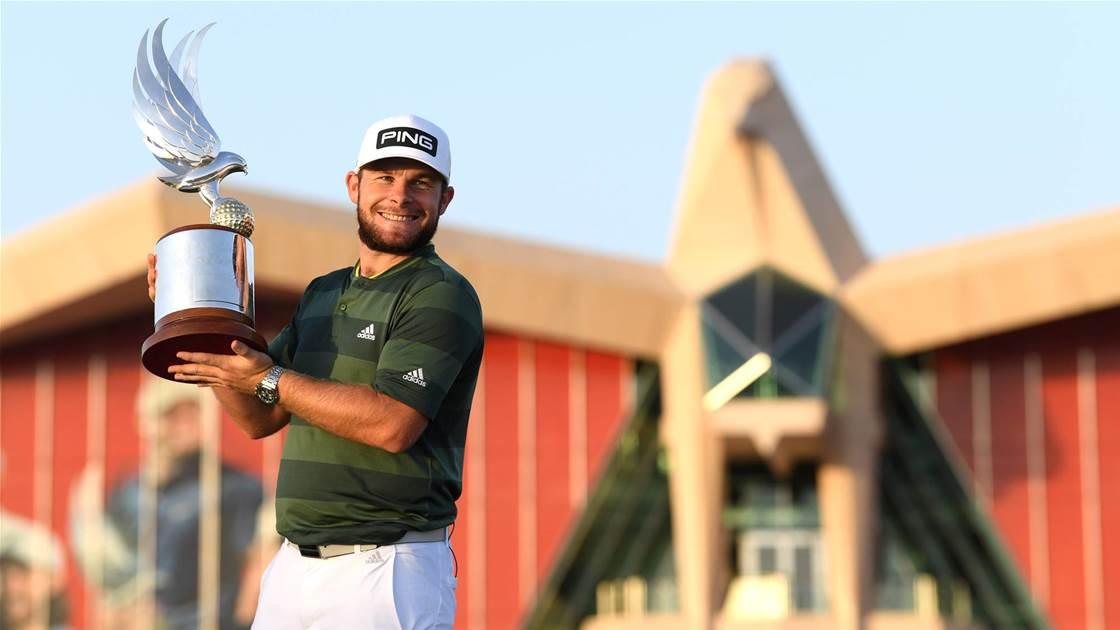 Hatton wins Abu Dhabi Championship