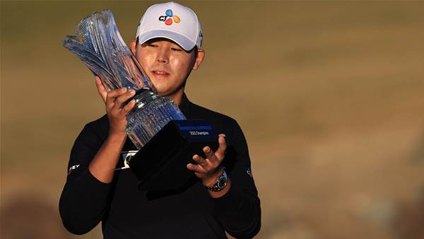 Kim earns thrilling one-shot victory at The American Express