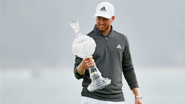 Berger wins at Pebble Beach, Day 7th