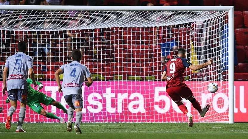 'It was a very strange game...' - Juric penalty hat-trick gives Reds win