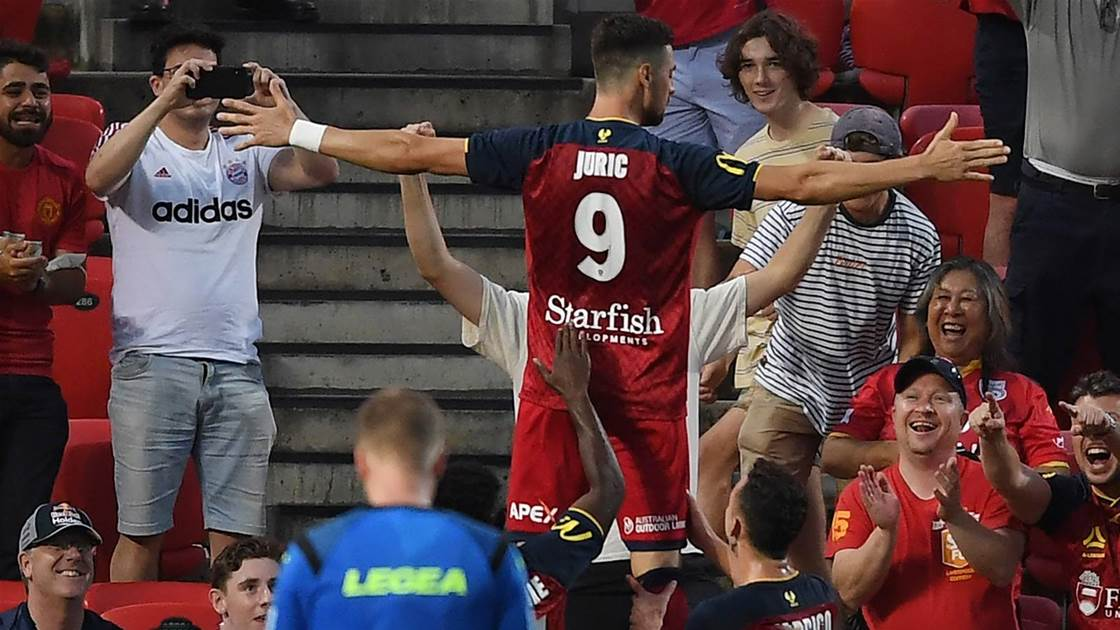 'It's the type of striker he is...' - Juric shows class with penalty treble