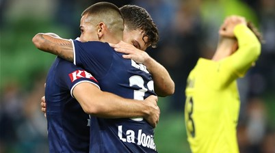 'It's been really tough...' - Victory secure badly needed win