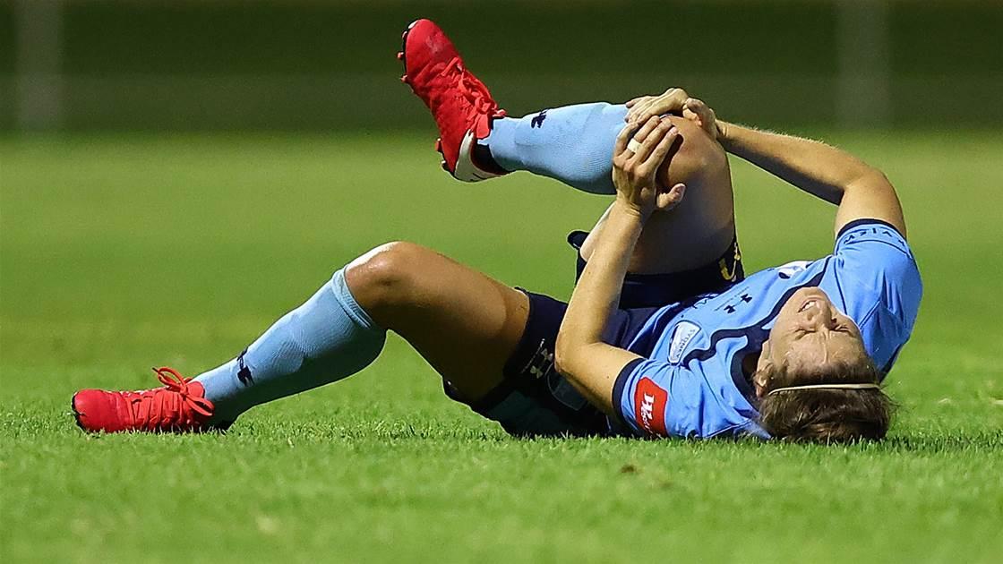 'I'm devastated...' - Sydney's Ellie Brush out for season