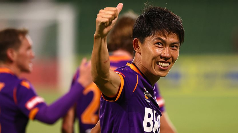 'He's still building...' - Glory play it careful with Japanese star