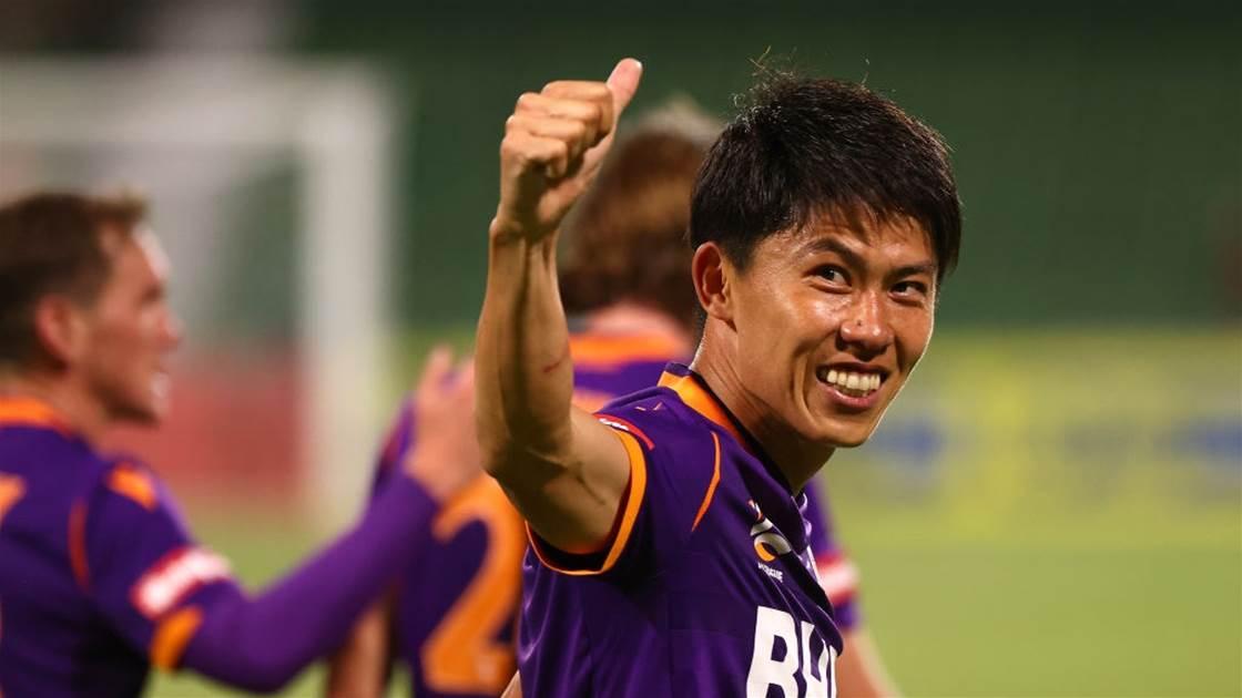'I will get MGP next season': Japanese international confirms A-League stay