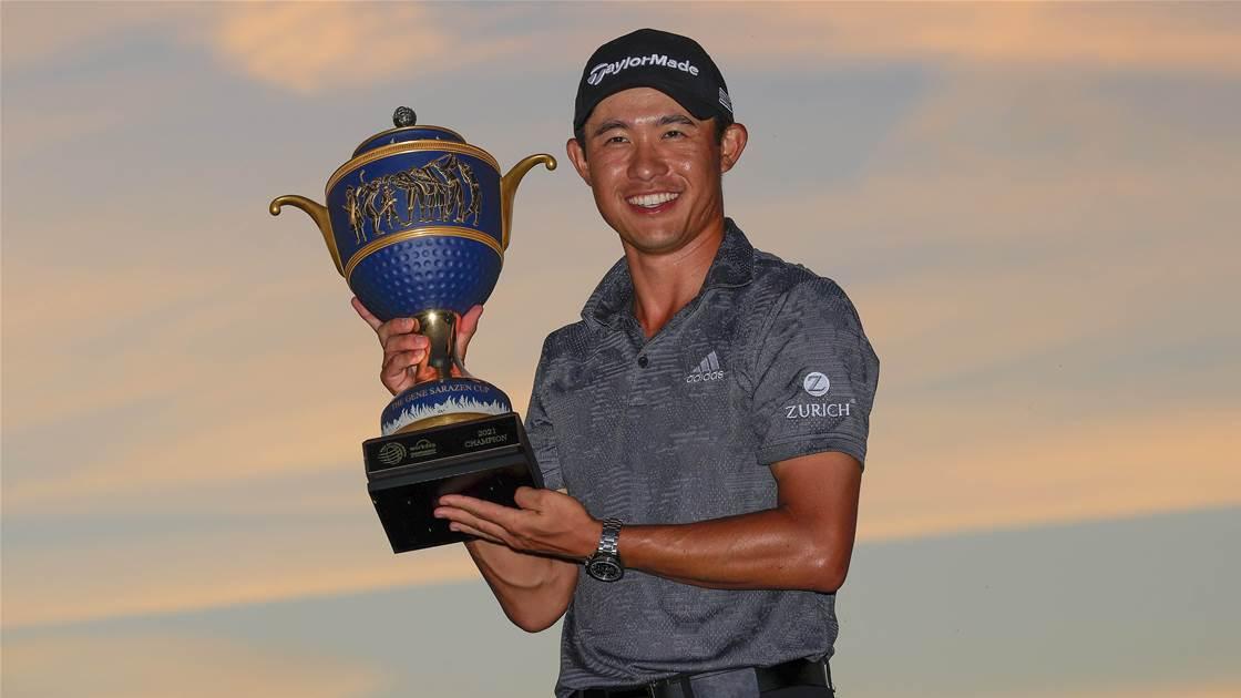 Morikawa plays a steady hand to win WGC