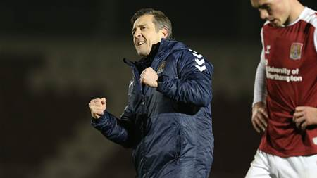 New Aussie Northampton manager says League Two club 'nowhere near finished'
