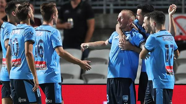 'We did it in style...' - Rhino charges home as Sydney end winless run