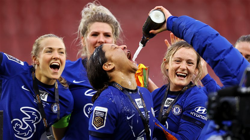 'It's what I came here for...' - Kerr scores hat-trick as Chelsea lift Cup