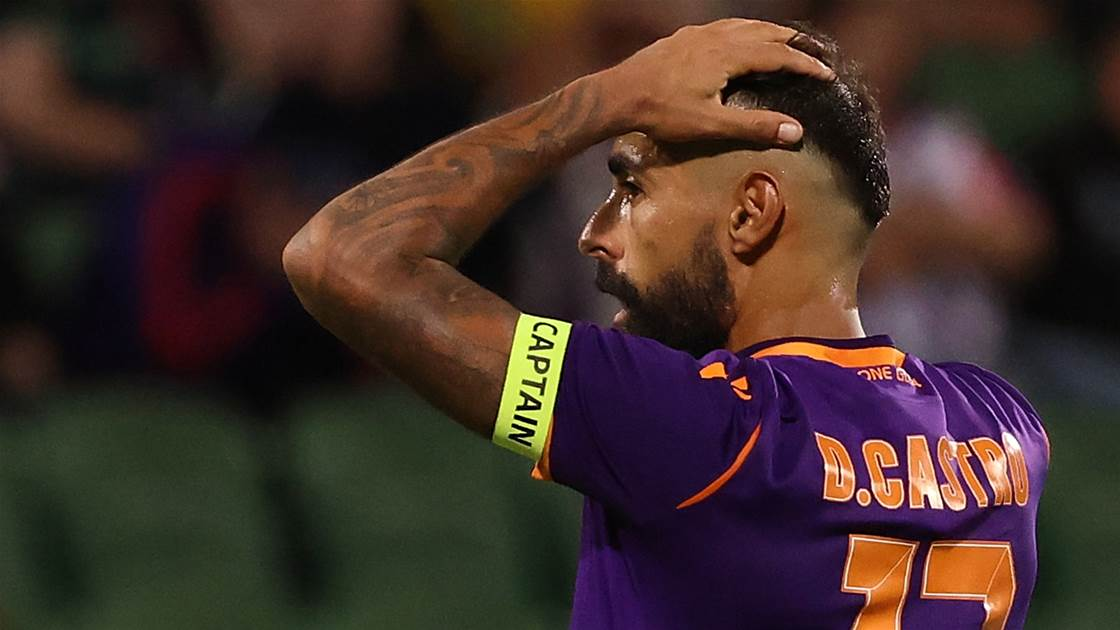 Glory star Castro cut down by knee injury