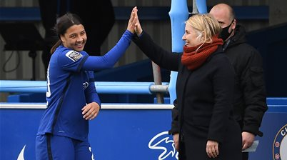 'I'm so thankful...' - Chelsea boss hails 'wonderful human' Kerr