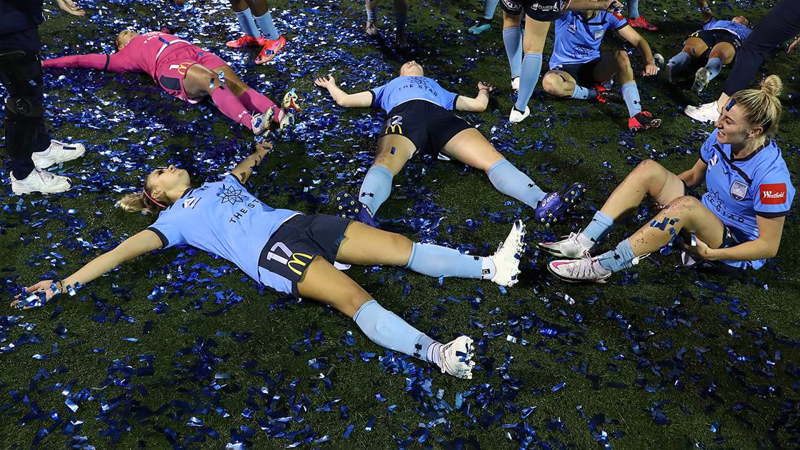 'The girls deserve it...' - Young Sky Blues fly high with trophy win