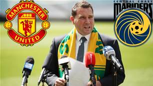 'It's exciting, isn't it?' - FA talks on Manchester United links to Mariners
