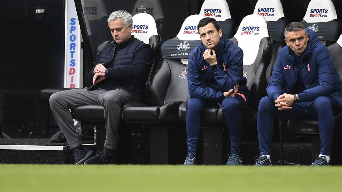 'Same coach, different players...' - Spurs cave in again