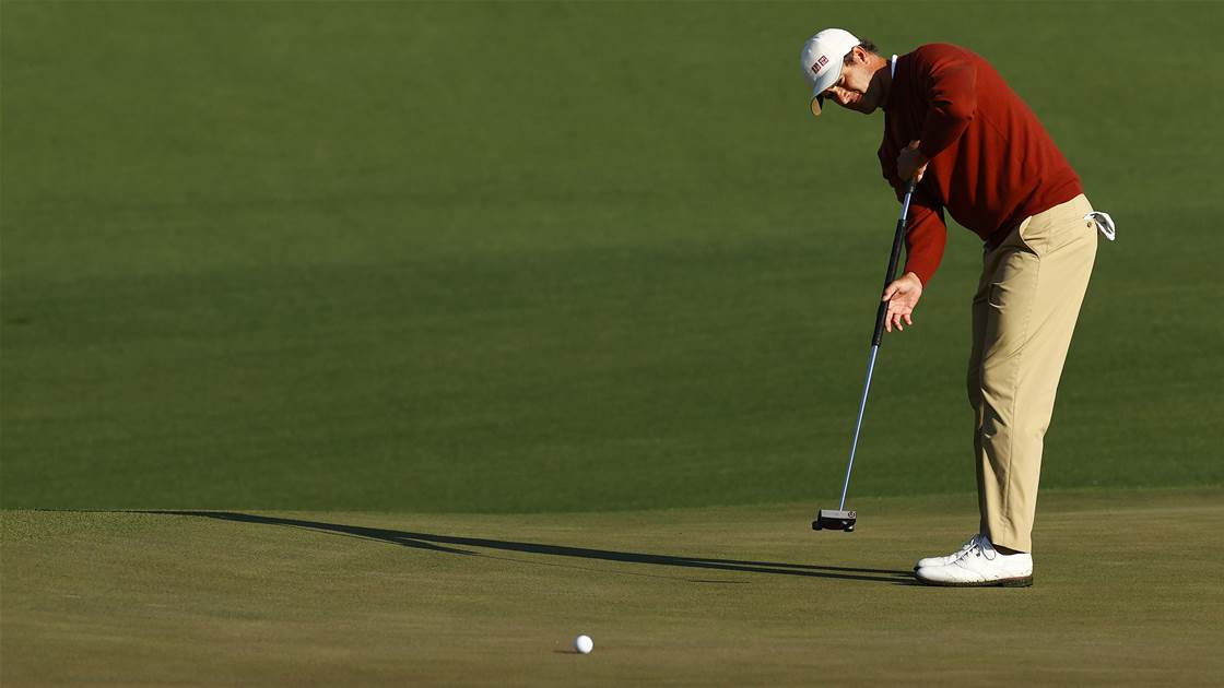Scott stresses discipline in Masters chase