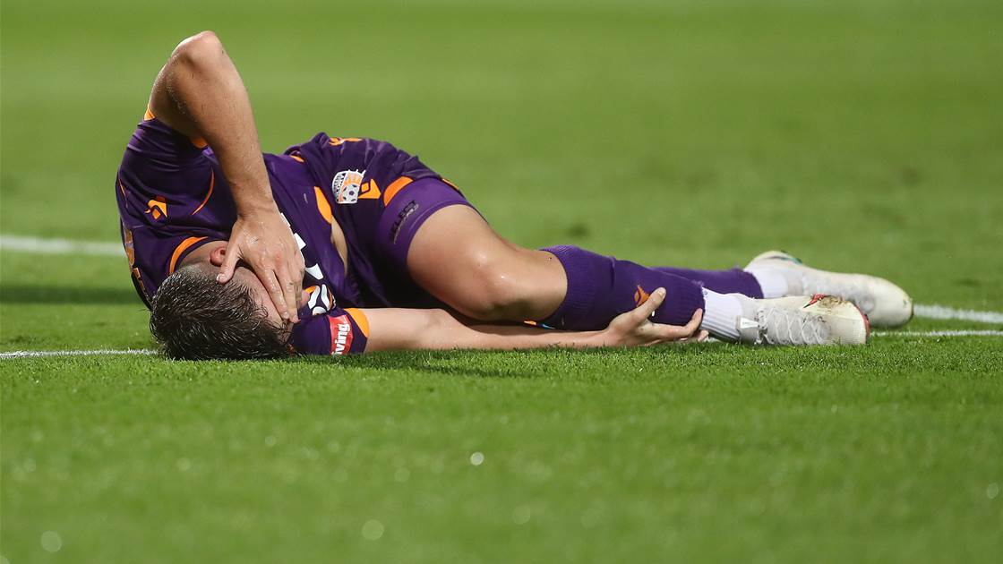 In the dark - Penalty call and early ending infuriate Perth Glory