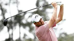 Little Leishman inspires dad at Masters