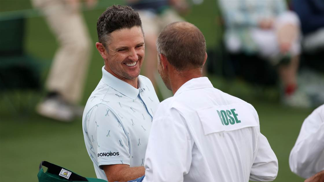 Justin Rose in command at Augusta