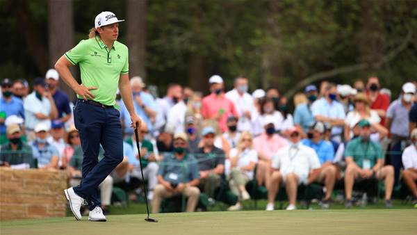 Smith rues late water plunge at Masters