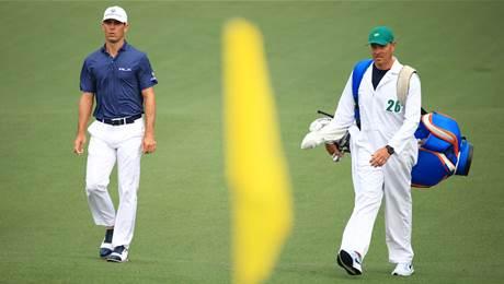 Horschel embraces Masters slip and slide