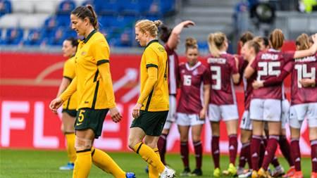 Matildas hammered on international return