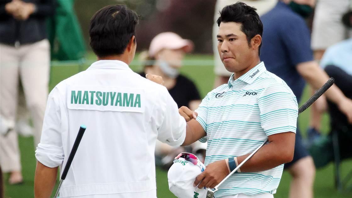 Matsuyama on brink of Masters glory