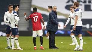 Mourinho moans at Ole as Spurs unravel