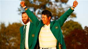 Matsuyama wins the Masters at Augusta