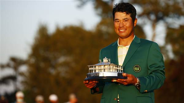 Scott delighted for Japan's Masters champ