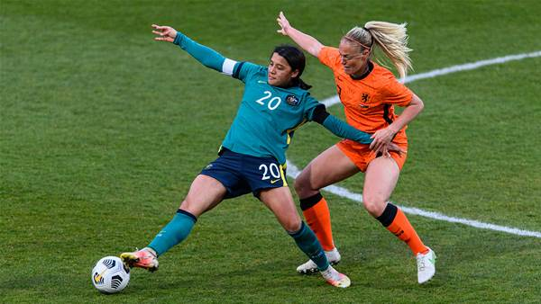 No Dutch treat as Matildas outplayed again