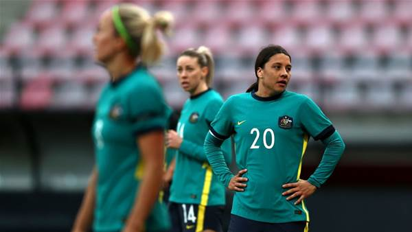 Matildas coach warns another big loss will damage 'identity' and 'belief'
