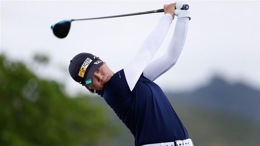 Philippine teen sizzles again on LPGA Tour