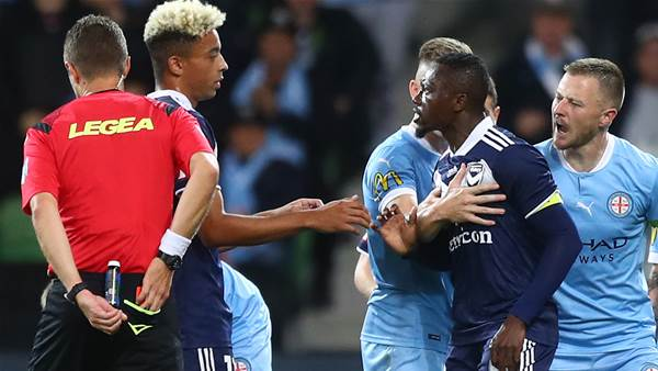 Victory's Traore hit with 5 game ban
