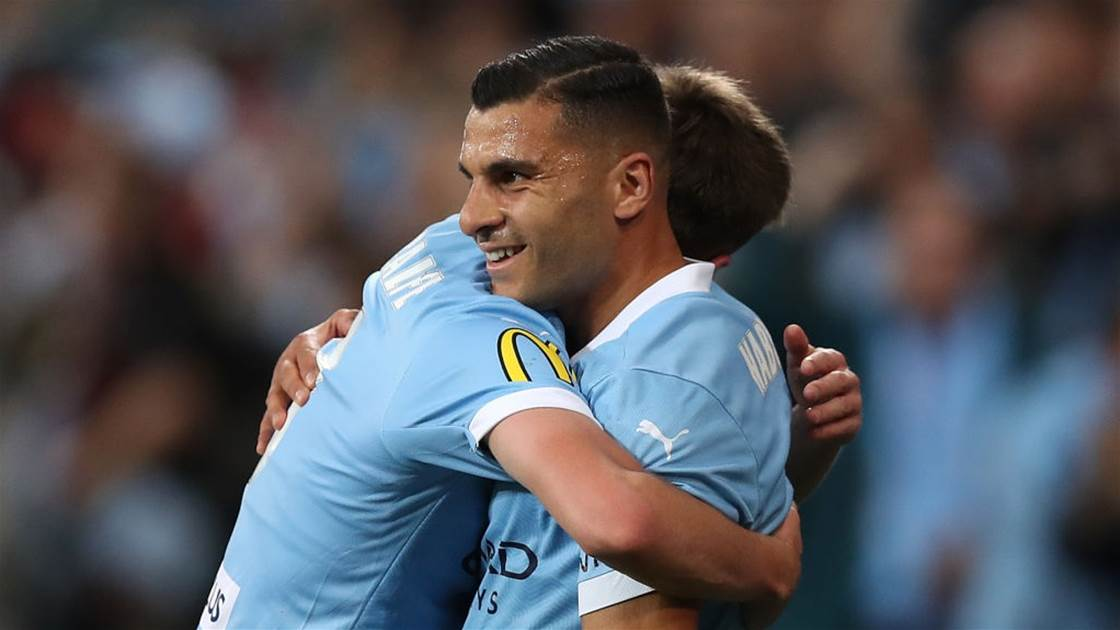 A-League's City to sweat on Nabbout, Noone fitness