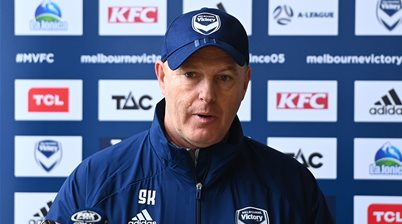 'I don't expect to be here' - Kean told he won't coach Victory full-time