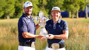 Smith and Leishman win Zurich Classic