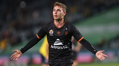 Brisbane lock-down 'extremely deserving' young A-League star striker