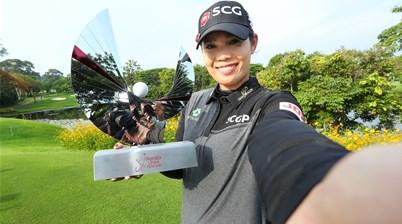 Jutanugarn storms to LPGA win in Thailand